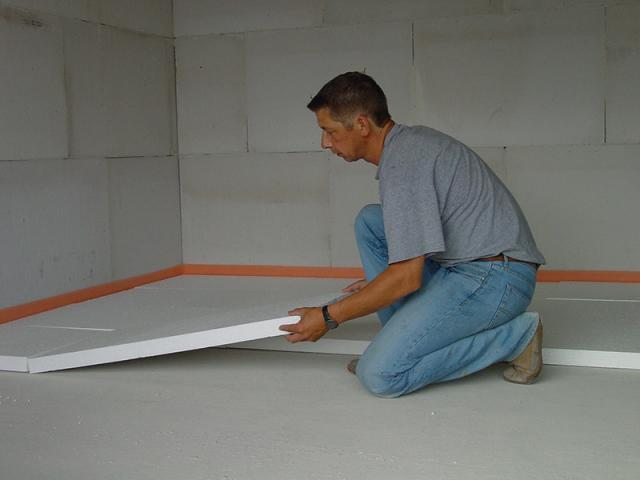 What is polystyrene insulation?
